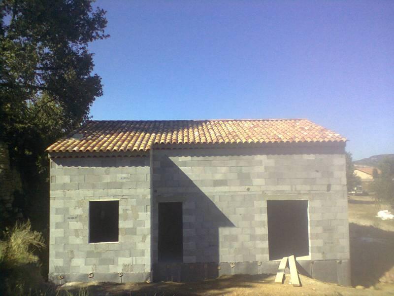 Construction d 39 une villa bastide viens dans le vaucluse for Construction bastide